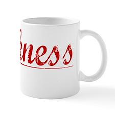 Harkness, Vintage Red Mug