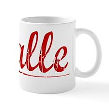 Halle, Vintage Red Mug