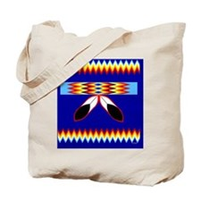 NATIVE AMERICAN BEADED STRIP Tote Bag