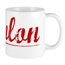 Hanlon, Vintage Red Mug