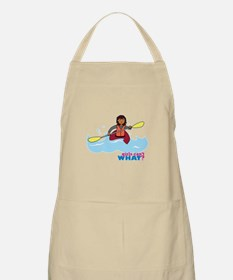 Girl Kayaking Apron