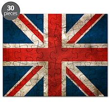 Distressed Union Jack copy Puzzle