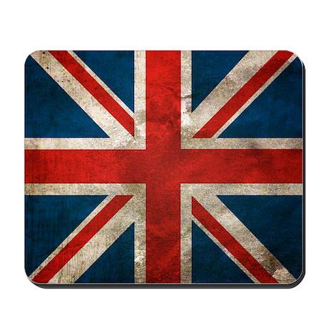 Distressed Union Jack copy Mousepad