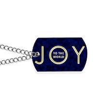 Joy To The World Dog Tags