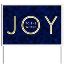 Joy To The World Yard Sign