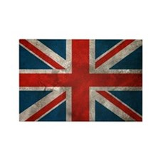 British Union Jack Rectangle Magnet