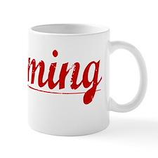 Hemming, Vintage Red Mug