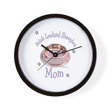 Lowland Mom Wall Clock