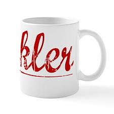 Heckler, Vintage Red Mug