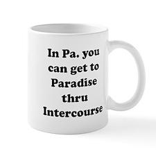 Paradise thru Intercourse Mug