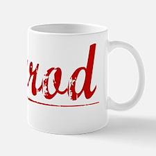 Herrod, Vintage Red Mug