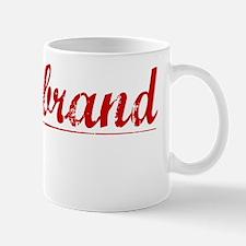 Hildebrand, Vintage Red Mug