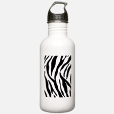 Zebra Stripes Water Bottle
