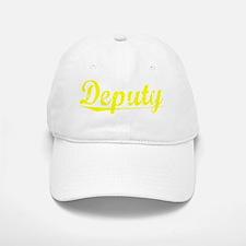 Deputy, Yellow Baseball Baseball Cap