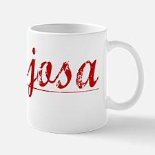 Hinojosa, Vintage Red Mug