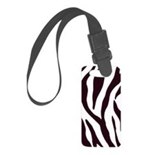 Zebra Stripes Luggage Tag