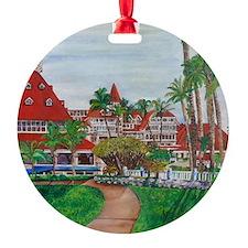 Coronado Hotel Del Ornament