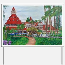 Coronado Hotel Del Yard Sign