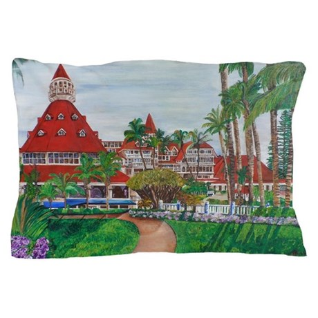 Coronado Hotel Del Pillow Case