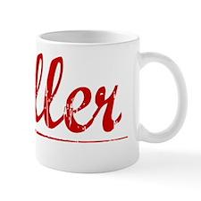 Holler, Vintage Red Mug