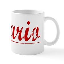 Hilario, Vintage Red Mug