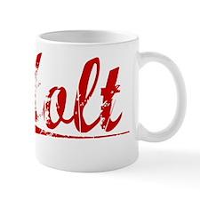 Holt, Vintage Red Mug