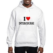 I Love Intercourse,PA. Hoodie