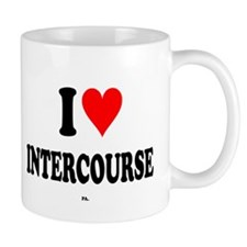 I Love Intercourse,PA. Mug