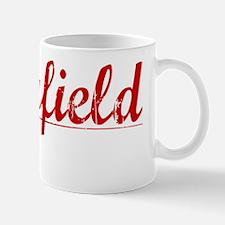 Holyfield, Vintage Red Mug