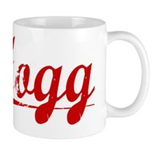 Hogg, Vintage Red Small Mug