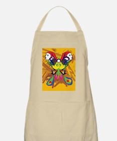 Psychedelic Butterfly Apron