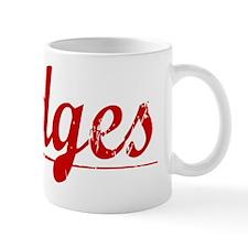 Hodges, Vintage Red Small Mug