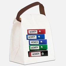 Do you have your Binders full of  Canvas Lunch Bag