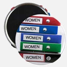 Do you have your Binders full of women? Magnet