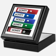 Do you have your Binders full of wome Keepsake Box
