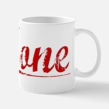 Hone, Vintage Red Mug
