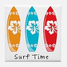 Surf Time Tile Coaster