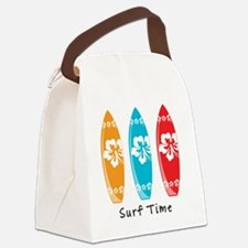 Surf Time Canvas Lunch Bag