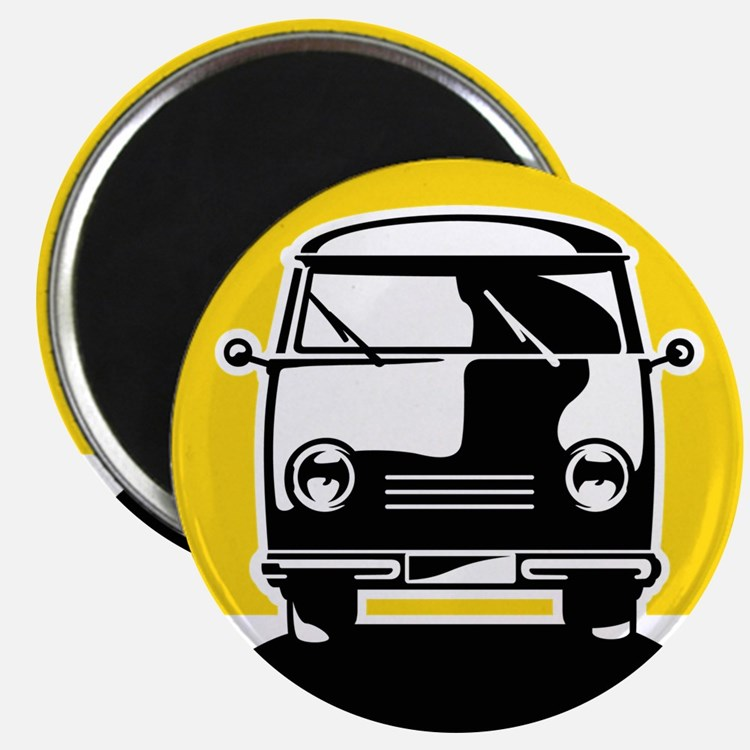 Minivan in Sunset 1 Magnet