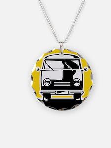 Minivan in Sunset 1 Necklace