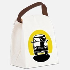 Minivan in Sunset 1 Canvas Lunch Bag