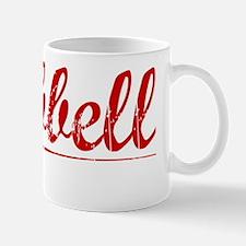 Hubbell, Vintage Red Mug