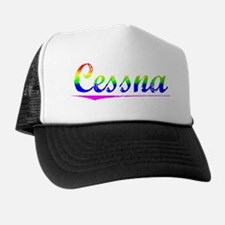 Cessna, Rainbow, Trucker Hat
