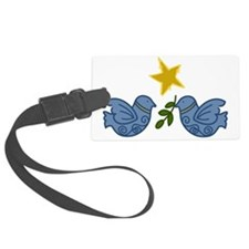 Doves With Star Luggage Tag