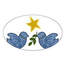 Doves With Star Decal