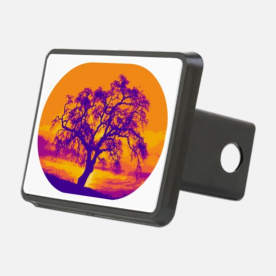 Complementary Sunset Hitch Cover