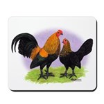 Brown Red OE Bantams Mousepad