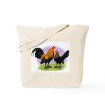 Brown Red OE Bantams Tote Bag