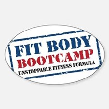 Fit Body Boot Camp Sticker (Oval)
