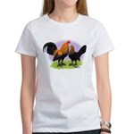 Brown Red OE Bantams Women's T-Shirt